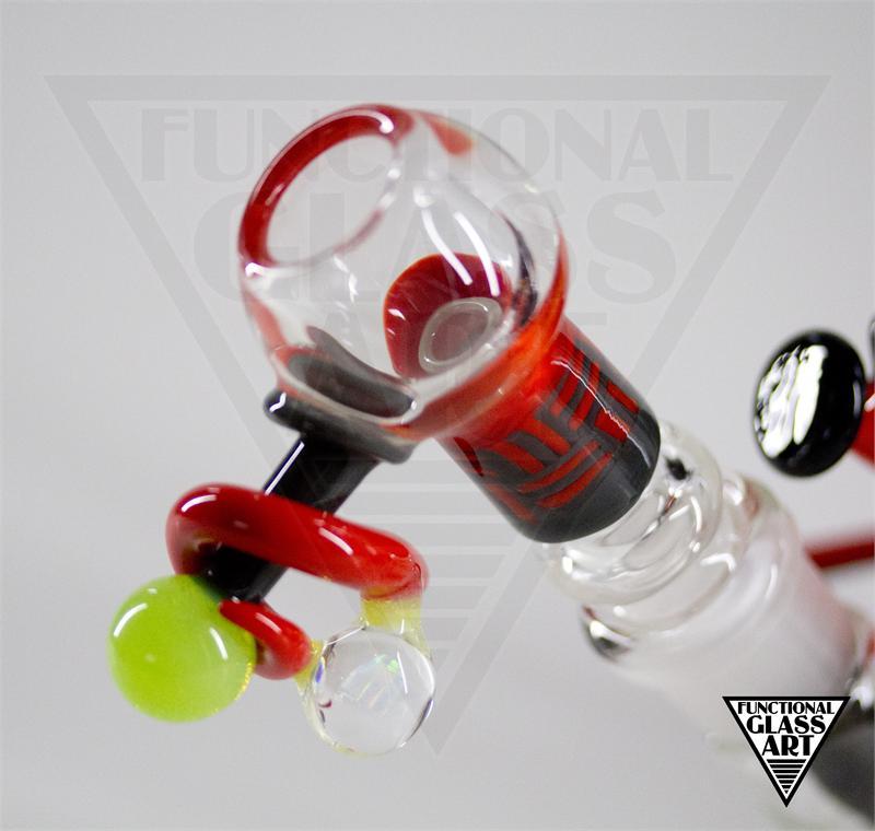 David Colton Amp Glass Munky Mini Tube Abstract