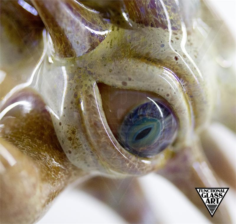 Salt Dready Bead Reptilian Eye 14mm